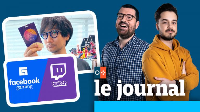 Kojima de retour, Facebook vs Twitch : on en parle dans JV le journal à 12h30