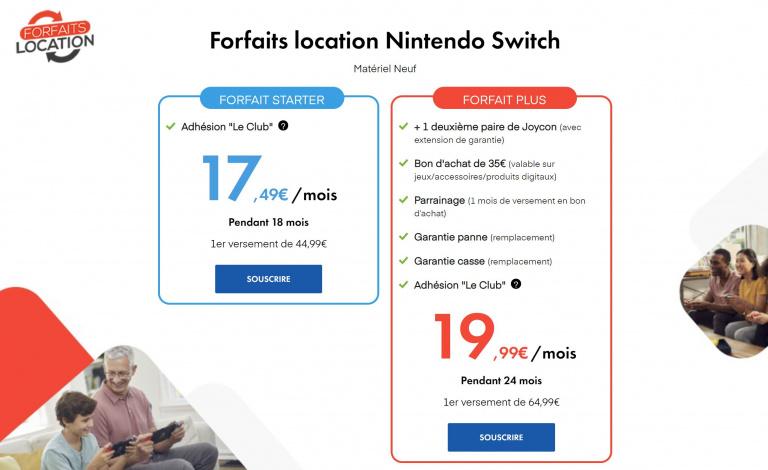 PS5, Switch ou Xbox Series, on peut désormais louer sa console chez Micromania-Zing