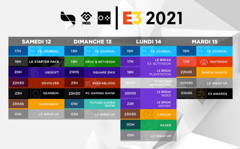 E3 2021 : Suivez l'événement en direct avec le dispositif jeuxvideo.com, partenaire officiel !