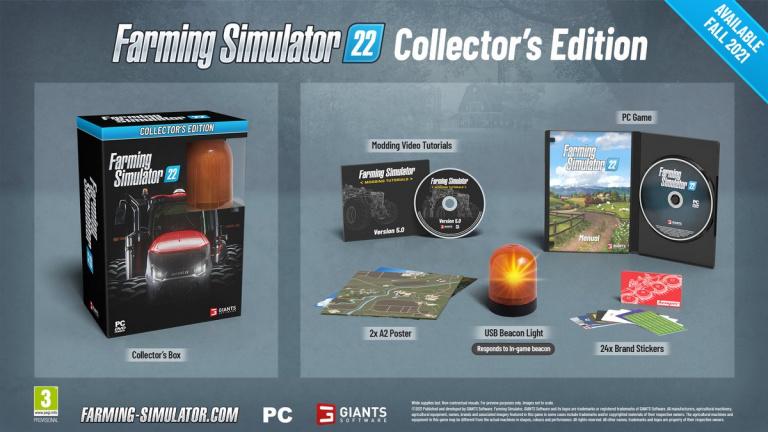Farming Simulator 22 : Une édition collector et une nouvelle feature annoncées