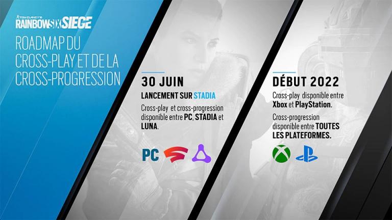 E3 2021 : Rainbow Six Siege - le cross-play PlayStation / Xbox prévu pour 2022