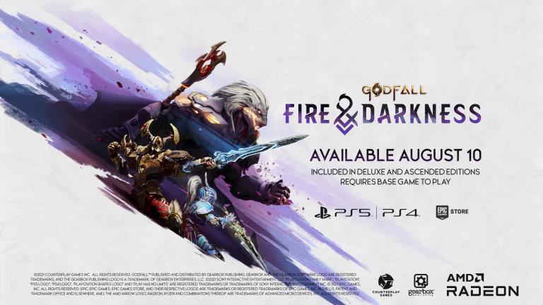 E3 2021 : Godfall annonce sa date de sortie... sur PS4