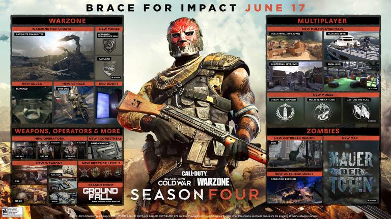 Black Ops Cold War Warzone : date, opérateurs, modes... tout ce qu'il faut savoir sur la saison 4