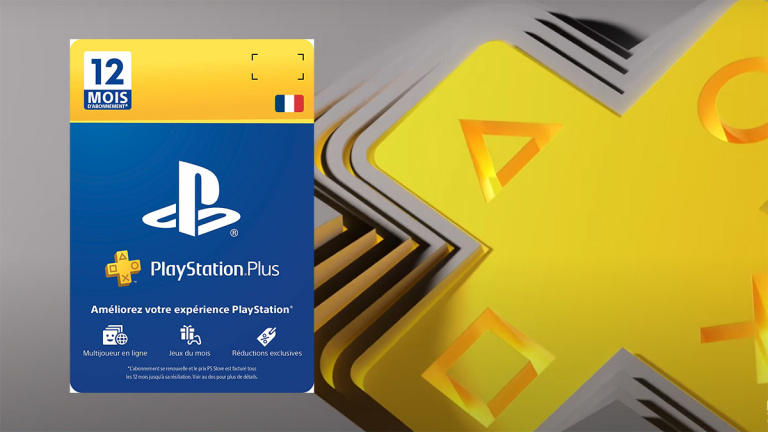 PlayStation Plus 12 mois : la carte d'abonnement à prix bradé