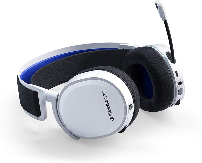 Le casque gamer spécial PS4/PS5 SteelSeries Arctis 7P sans fil en promotion