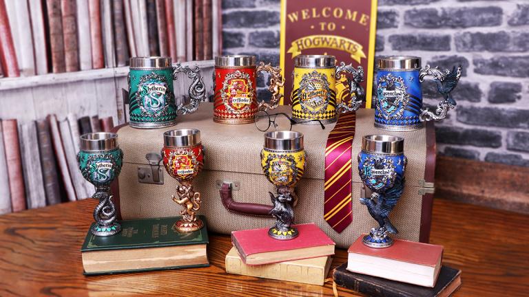 Chopes et CoupesHarry Potter en résine exceptionnelle disponibles en précommande !