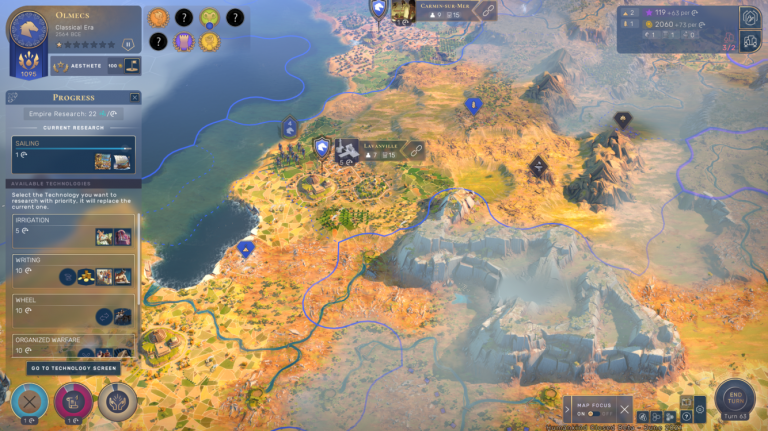 Carte progrès