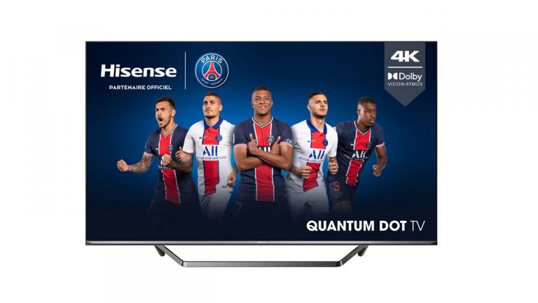 399€ pour la TV 4K Hisense 50U7QF QLED 50 pouces !