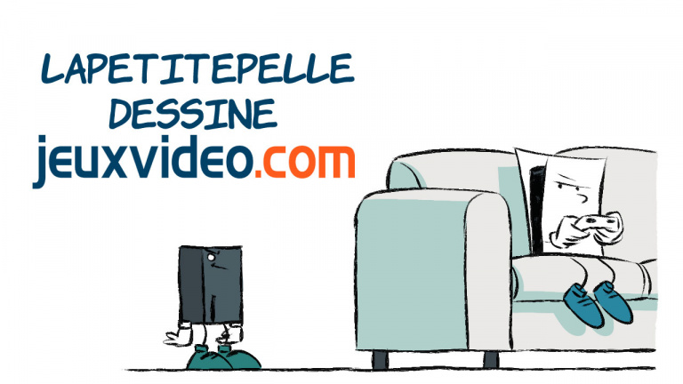 LaPetitePelle dessine JeuxVideo.com - N°387