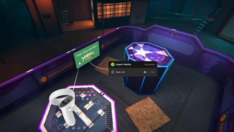 Misi Oculus: Iklan dalam game segera hadir لانات