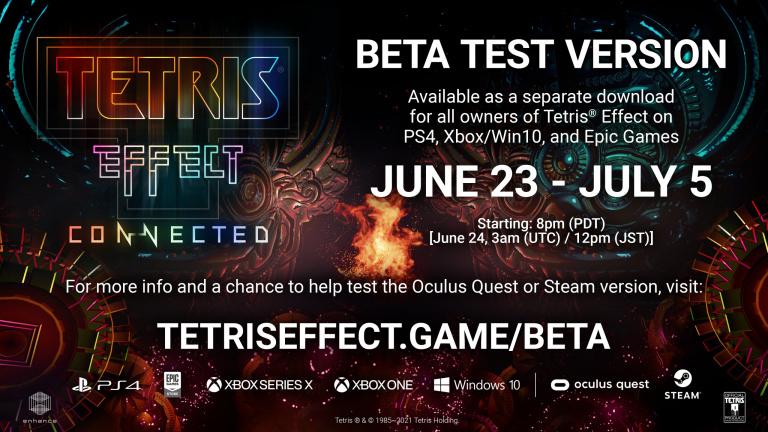 Tetris Effect Connected : une date pour le multi sur PS4, EGS, Steam et Oculus Quest