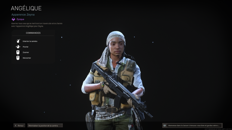 Call of Duty Warzone, saison 4 Black Ops : mission d'opérateur Zeyna, liste et guide complet