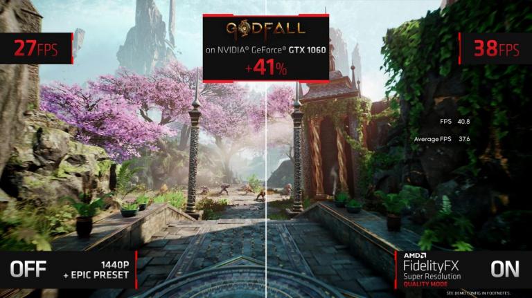FSR : Le DLSS d'AMD arrive avec sept jeux supportés dès son lancement