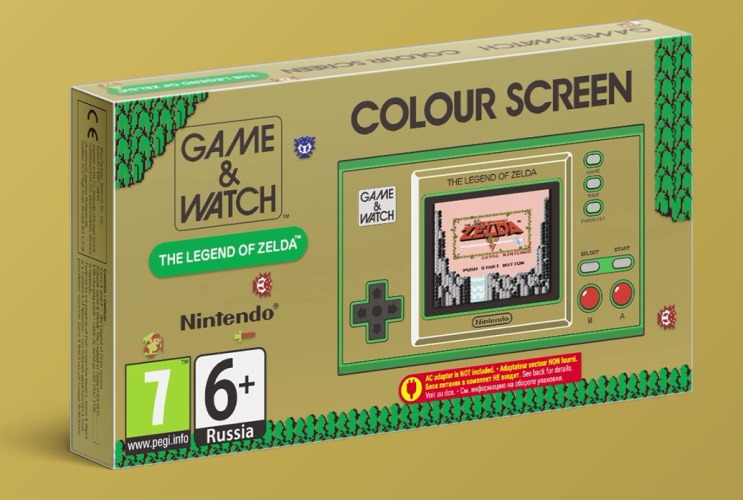 La Game & Watch : The Legend of Zelda en précommande à la Fnac !