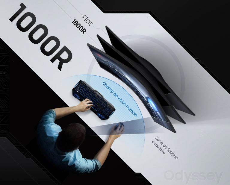 Prime Day 2021 : l'écran gamer Samsung Odyssey G5 27 pouces en promotion