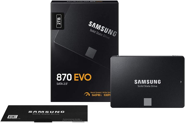 Prime Day : Le SSD Samsung 870 EVO 2 To à un prix jamais vu !