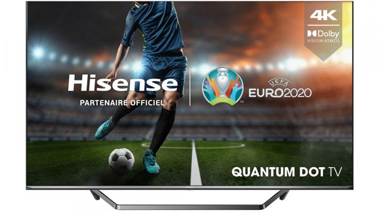 """La TV 4K QLED Hisense 50"""" à moins de 500€ chez Boulanger !"""