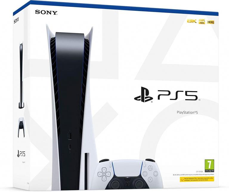PS5 en stock !