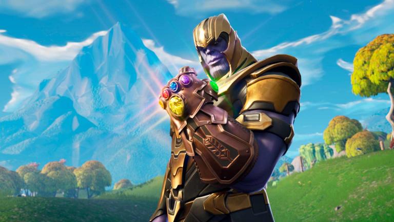 Fortnite : L'inéluctable Thanos intègrera bientôt la boutique du jeu