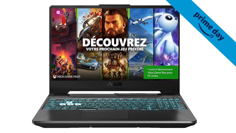 Prime Day : Moins de 900€ pour ce PC portable gamer équipé d'une GeForce RTX 3050