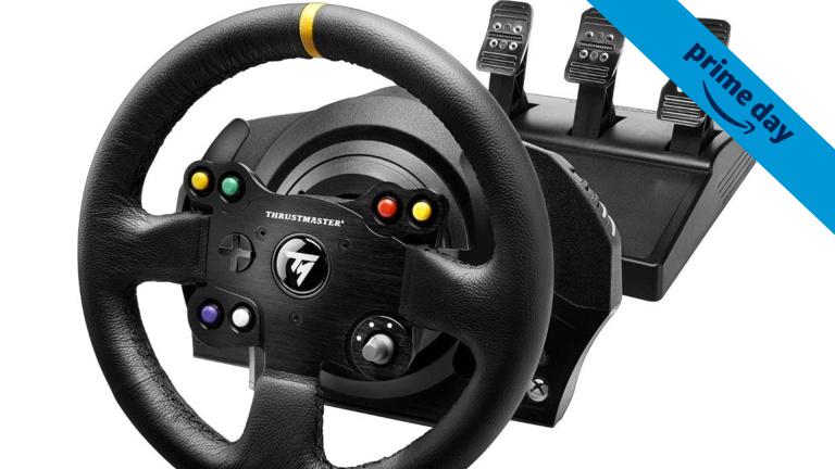 Prime Day : Le volant TX Leather Edition Thrustmaster à prix cassé sur Xbox One, Series et PC
