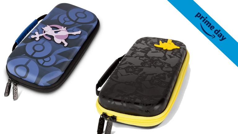 Prime Day : Les pochettes de transport Pokémon pour Switch à prix cassés