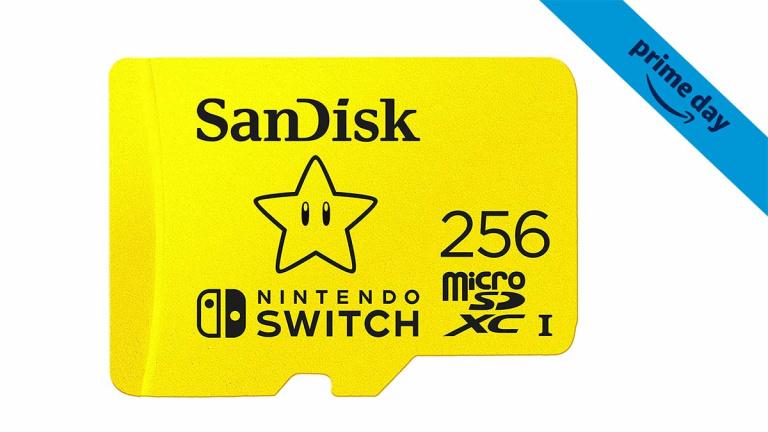 Prime Day : Carte micro SD 256 Go pour Nintendo Switch à prix très intéressant