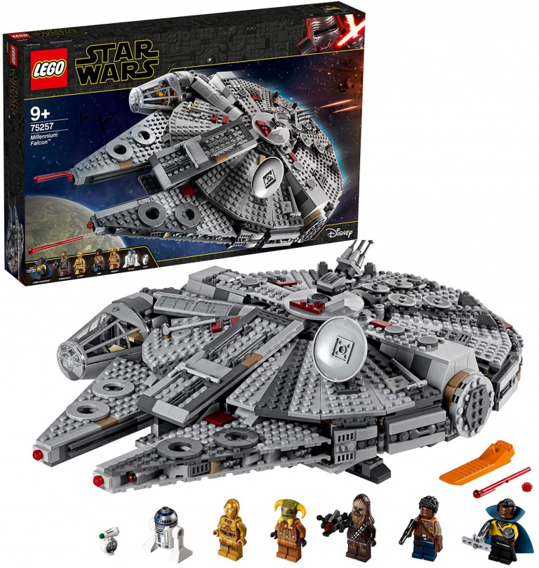 Prime Day : LEGO Star Wars le Faucon Millenium à moins de 100€