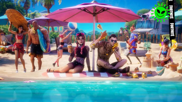 Fortnite, saison 7 : discuter avec Sunny, Joey ou Beach Brutus (défis légendaires de semaine 3)