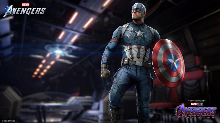 Marvel's Avengers : le costume Captain America du MCU disponible, 1er visuel