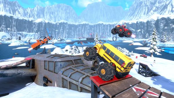 Crash Drive 3 : un trailer de lancement à toute allure pour le jeu de course multijoueur