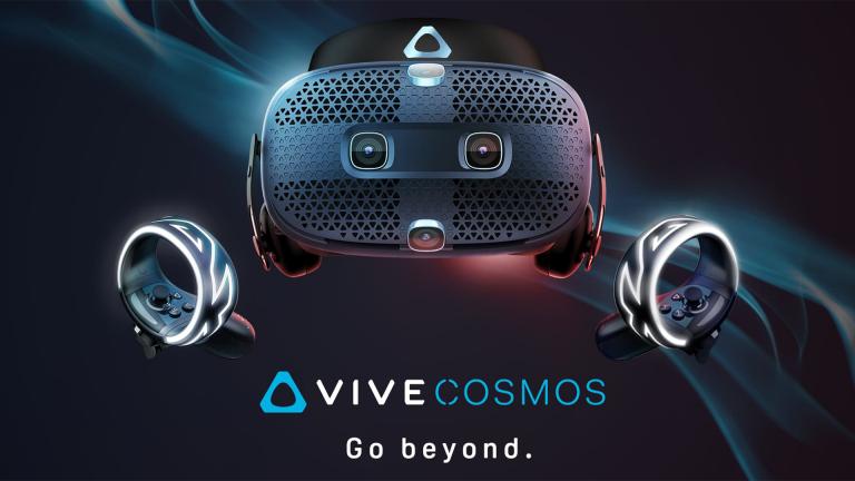 HTC Vive Cosmos : promo sur le casque de réalité virtuelle