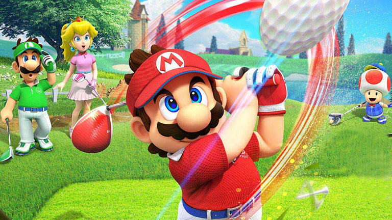 Mario Golf Super Rush: The first patch is available!