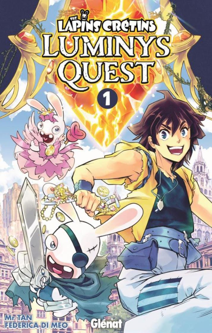 Les Lapins Crétins : Un Shonen fantastique annoncé par Glénat Manga