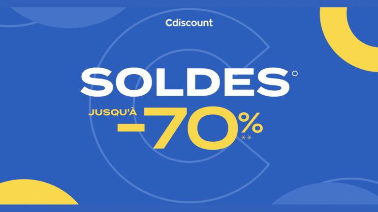Soldes 2021 : Obtenez 25€ de réduction dès 299€ d'achat chez Cdiscount !