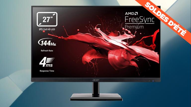 Soldes 2021 : l'écran PC gamer Acer 27 pouces 144hz Full HD en promo