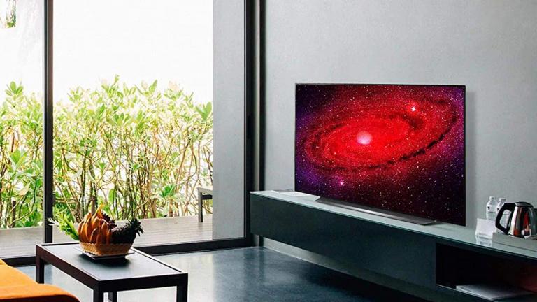LG 55CX, la TV 4K OLED en réduction de prix