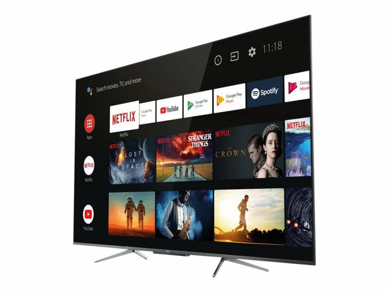 Soldes 2021 : La TV 4K QLED HDR TCL à 419€