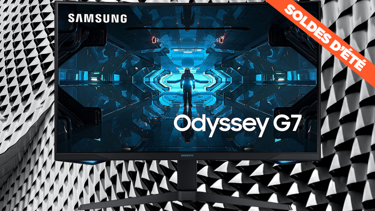 Soldes : L'écran PC Gamer Samsung Odyssey G7 QLED 1ms 240Hz voit son prix chuter