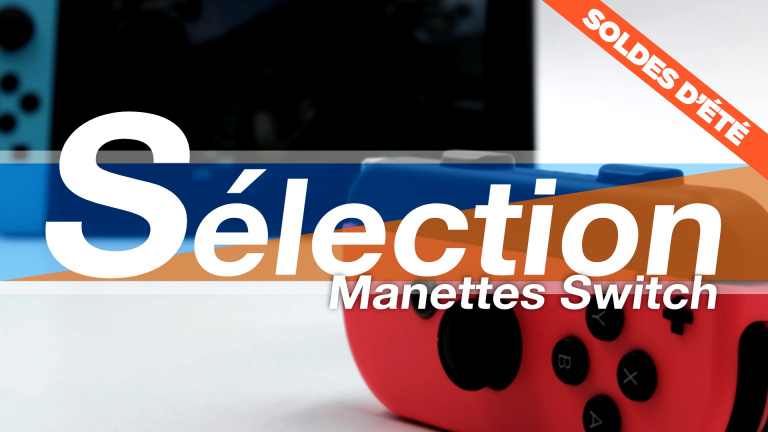 Soldes manettes Nintendo Switch : les meilleures offres à saisir