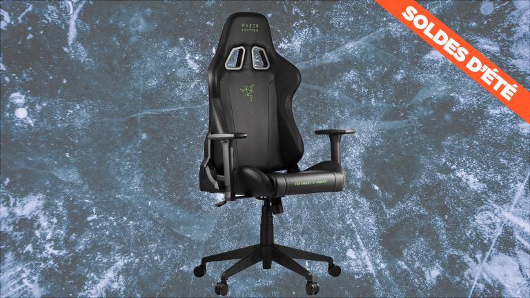 Soldes d'été : la chaise gamer Razer Tarok Essentials
