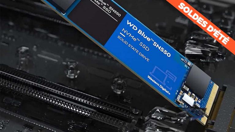 Soldes : Le SSD NVMe Western Digital SN550 de 250 Go à 1 To au prix le plus bas