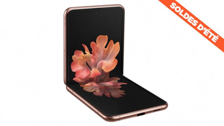 Soldes : le smartphone pliable Samsung Galaxy Z Flip 5G à prix cassé