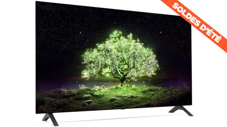 Soldes : la dernière TV 4K OLED LG A1 de 48 pouces avec une réduction de 26%