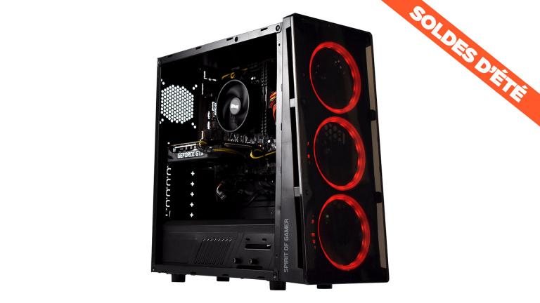 Soldes : le PC de bureau gaming avec RTX 3060 et i5 11500 en promotion