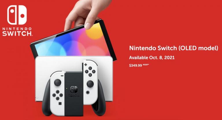 Nintendo Switch OLED : Pas vraiment un modèle Switch PRO ?
