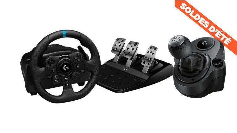 Soldes : Le volant Logitech G29 pour PC, PS4 et PS5 à prix cassé !