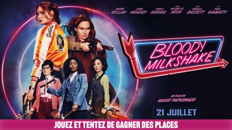 Jouez et tentez de gagner des places de cinéma pour Bloody Milkshake