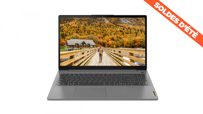 "Soldes : 464€ le PC portable 15"" Lenovo IdeaPad 3 avec CPU Ryzen"