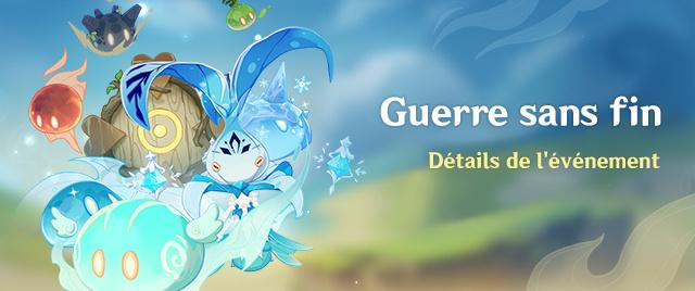 """Genshin Impact, guide de l'événement """"Guerre sans fin"""" , des primo-gemmes à récupérer (Jour 7)"""